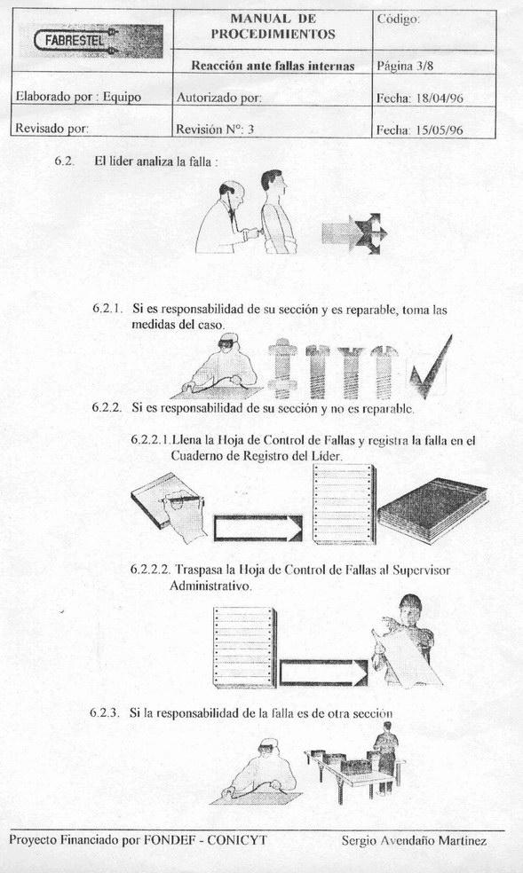 11. Manual de procedimientos